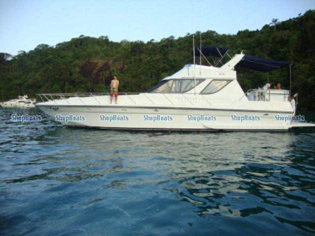 VENDA DE BARCOS E LANCHAS INTERMARINE OCEANIC 53